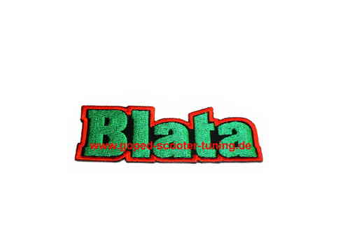 Blata badge for Suit and T-shirt 9x3cm 519.100.05