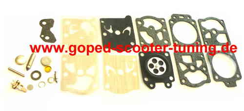 Gasket Set Walbro WT-499 / WT-603 / WT-668 series carburetors