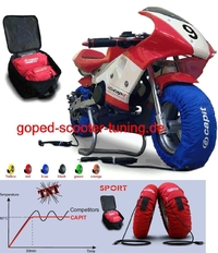 "Capit 6,5"" Reifenwärmer Pocket Bike Set"