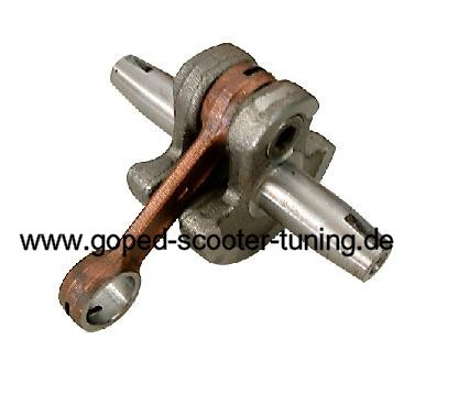 Crankshaft for 10mm Piston Pin Pocket Bike, Pocket Cross Quad