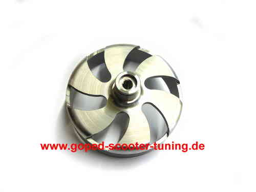 GST Autocooling Clutch Drum 80mm M8x1.25 Sprocket Thread