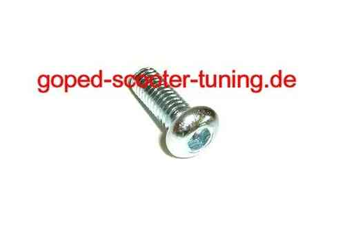 Screw M6x20 for Seat Cowling and Steering Duper Holder 916.014.01