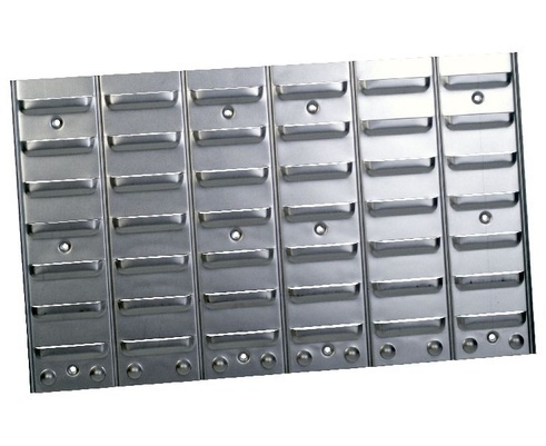 Metal rack for storage bins PP Size 1-4