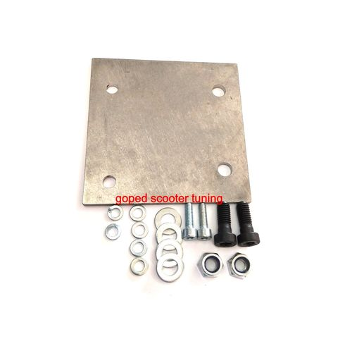 "Adapter Plate for ""71cc"" Engine on Mach1 Gas Scooter"