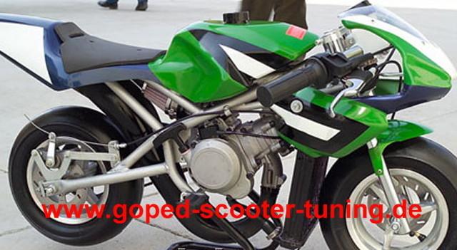 Umgebautes Motorrad Blata Origami B1 von ...   351x640