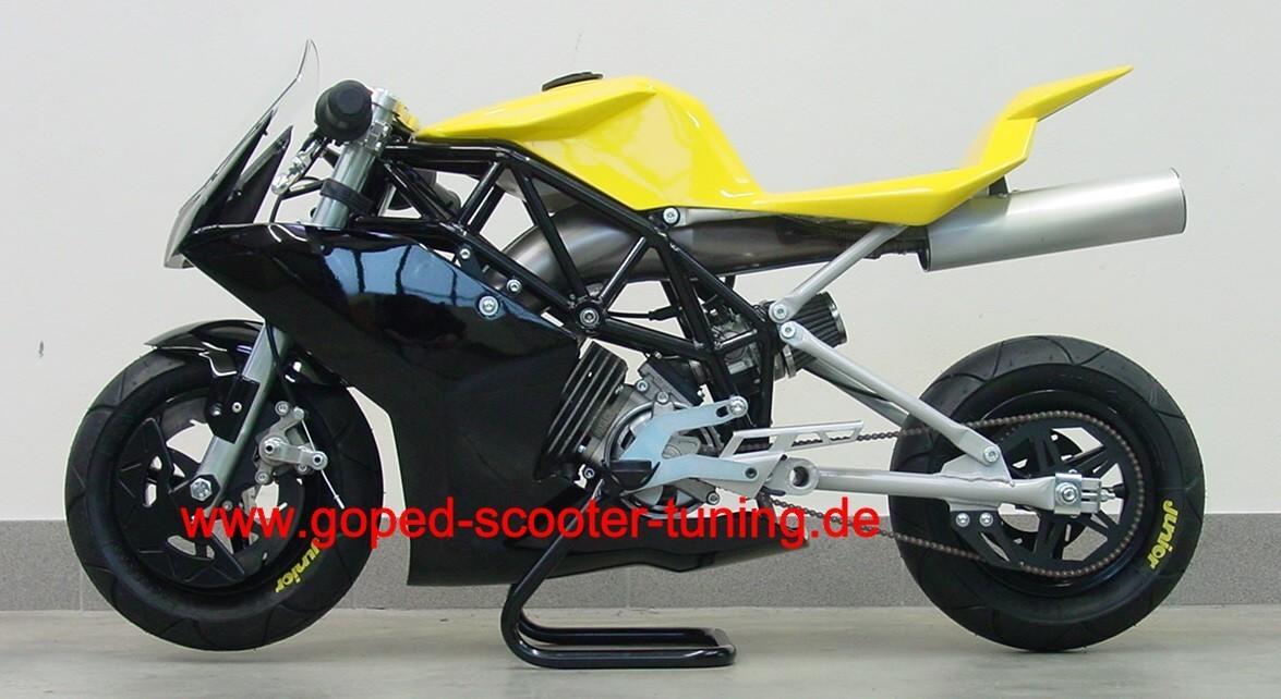 ultima junior concept basismodell goped scooter tuning. Black Bedroom Furniture Sets. Home Design Ideas