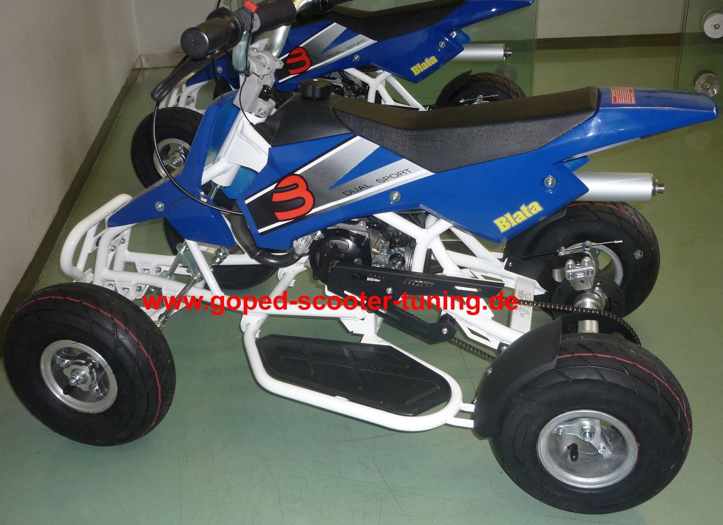 blata quad midiquadard miniquad goped scooter tuning