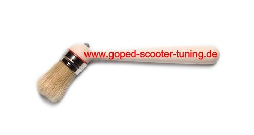 Special brush for tyre mounting