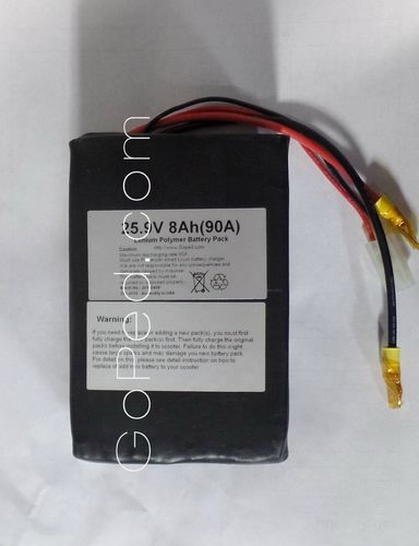 Li-Ion Battery Pack DC Battery, 25.9v - 8Ah (111130047)