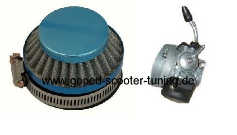 Air filter for Dellorto SHA and they Replica