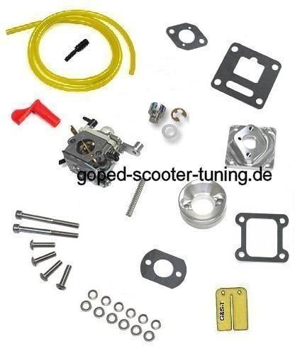 Pocket Bike Rennvergaser Kit für 47/49ccm Membran Motoren