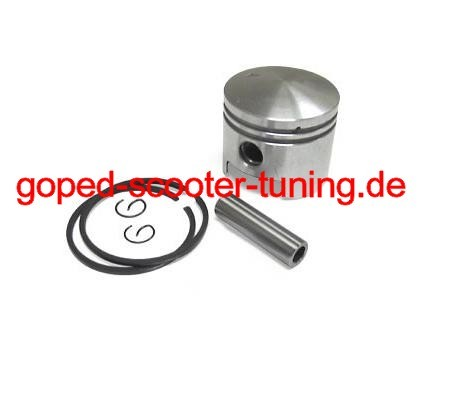 44mm Piston Kit with 10mm Piston Pin / Pocket Bike, Pocket Cross, Gas Scooter